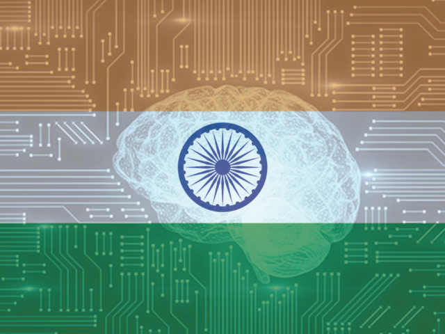 [LinkedIn] Ai India Flag