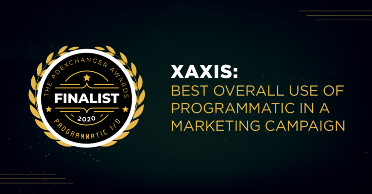 Best overall use of programmatic in a marketing campaign